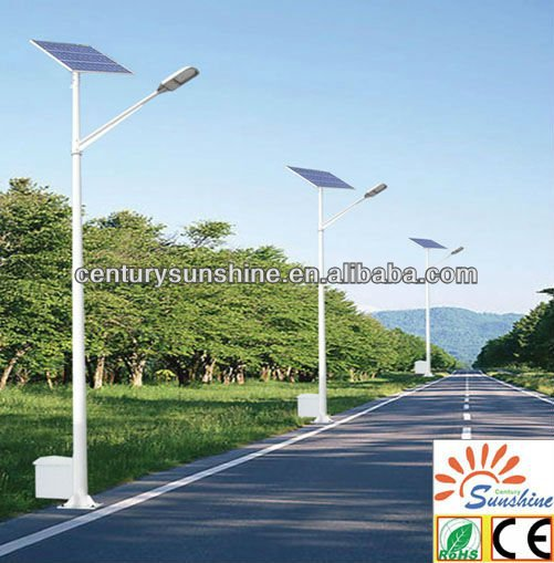 lily solar led lighting flower shaped light