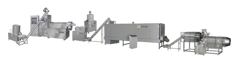 Professional soya bean protein production machine extruder