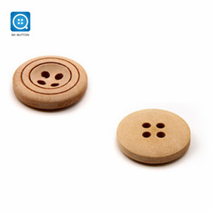 SK Pear wood 4 Holes Custom Clothes Wooden Oval Button,wood button