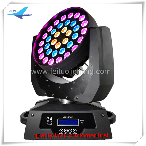 Cirecle Effect Rgbw Zoom 36x10w 4in1 Led Moving Head Wash Light ...