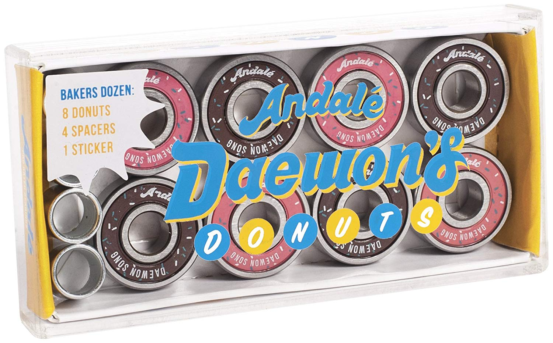 Andale Daewon Song Donut Box Bearing Skateboard Accessories, Daewon Song