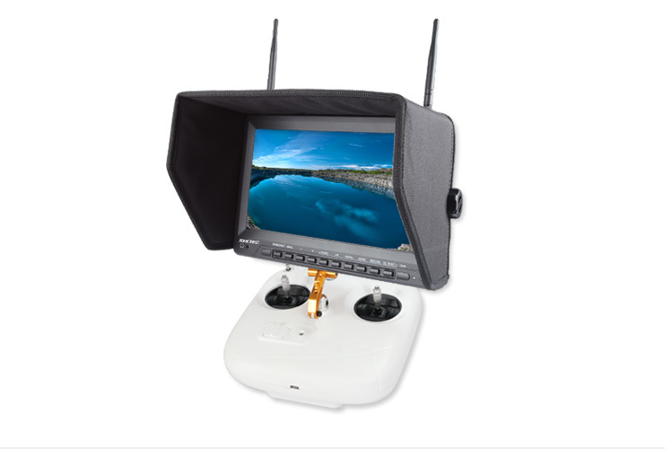 Seetec Wireless Diversity Receiver 10 Inch Tft Lcd Widescreen Fpv ...