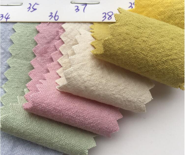 Cotton Double Crinkle Gauze Voile Fabric baby sewing fabric
