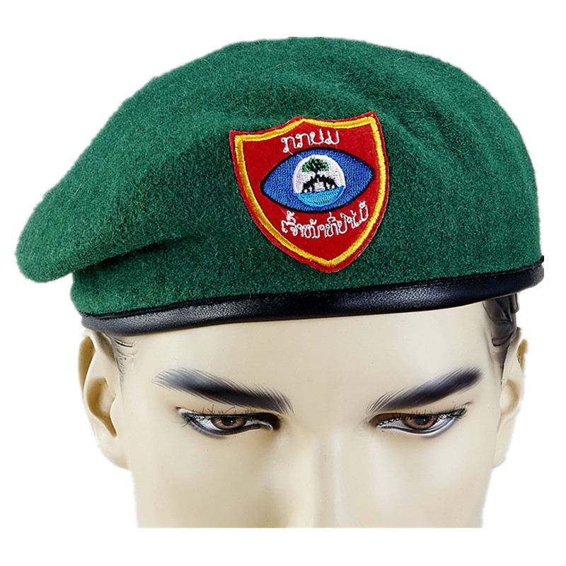 Wholesale Police Officers Gentleman Style Wool Military Beret