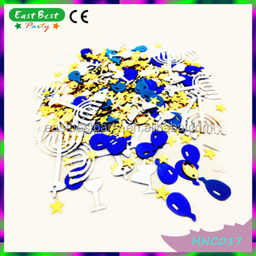Table Scatter Balloons&Stars&Glass Mixed Party Metallic Confetti