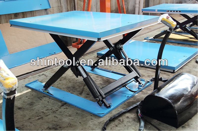 Petite Portable Low Profile Lectrique Hydraulique Table L Vatrice Tables L Vatrices Id De