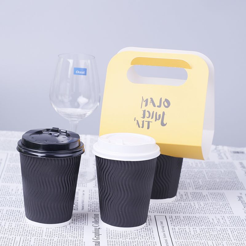 Rimpel muur Papier Cups take away koffie cups