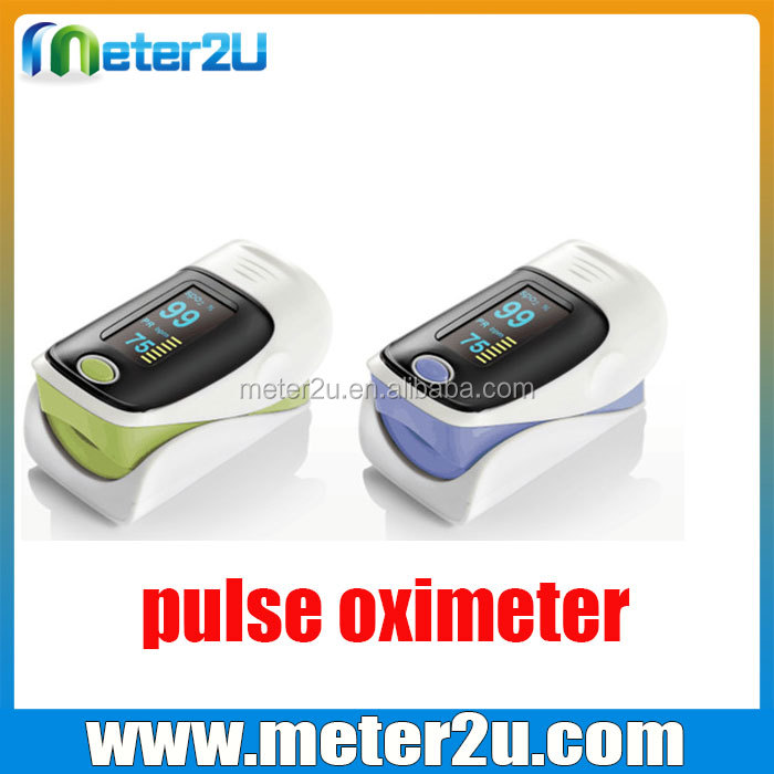 Blood Testing Equipments Type pulse oxygen finger with cheap price