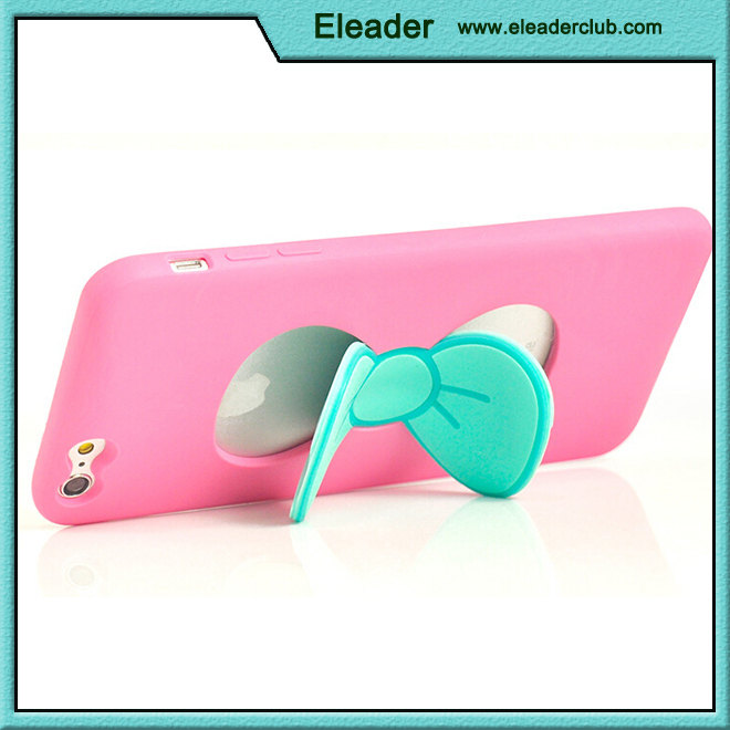 For iphone 6 case silicone 3D bowknot