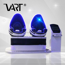 9D Vr Cinema 9D 2 Seats Eggs 9D Vr Cinema Arcade Game machine with Interactive Touch Screen