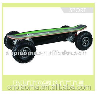 The Hot selling model -- 800W electric skateboard with newest model of remote control