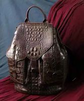 Luxury Handmade Crocodile Leather Bag For Women
