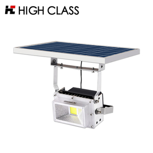 Small 12v portable die cast aluminum professional portable solar led garden light