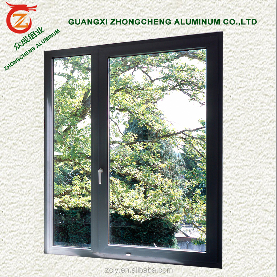 Popular African Buyers like import aluminium casement window for cheap house windows for sale at cheap price