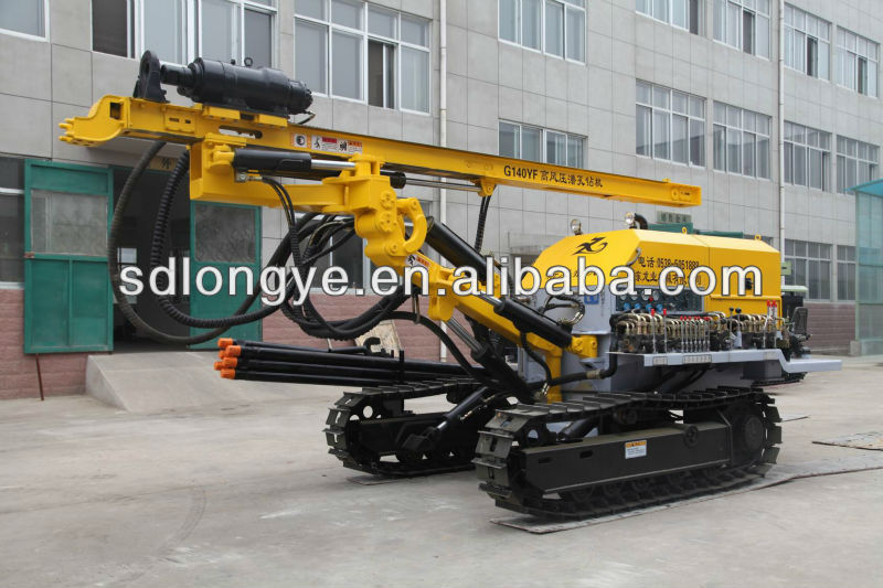 hydraulic blasting hole /soil nailing drilling rig for sale CTQ-G140YF