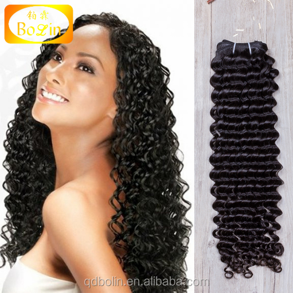 Cheap Virgin Brazilian Human Hair Extension Halloween Costumes Curly Hair