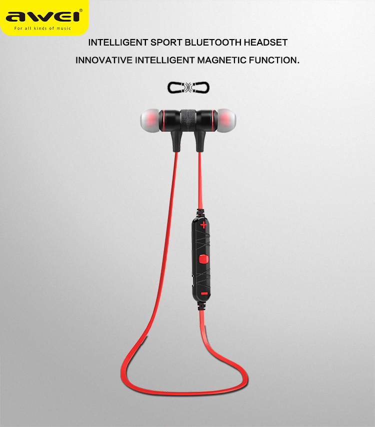 Original Awei A920BL Wireless Bluetooth Earphone 4.0 Bluetooth Headset Headphone With Mic Sports Stereo Earphone For Phone