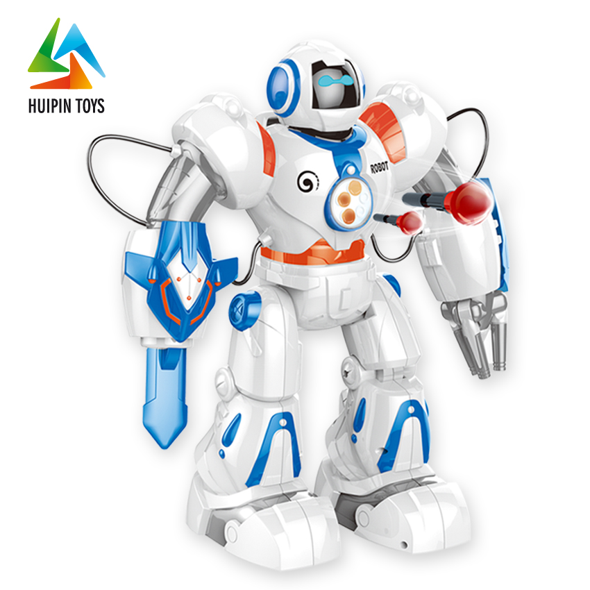 high quality plastic kids intelligent toy smart robot with remote control 2839