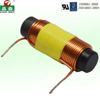 Chipsen 2 henry R shape magnetic stable low loss magnetic bar inductor DR Electric Induction Coil size and inductance customized