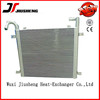 Air cooled aluminum compact heat exchanger,stacked plate oil coolers