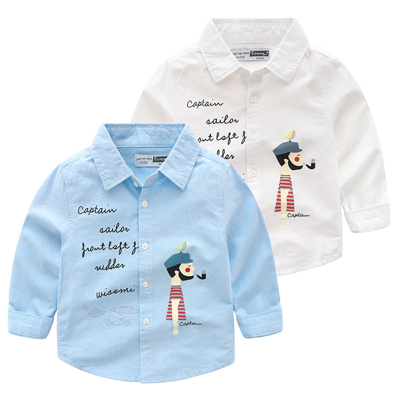 Boy Print Cartoon Cotton Kids Medium Boys Jeans Polo Plaid Custom P Shirts Of China Manufacturer