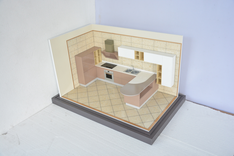 2015 top selling kitchen model making model making for 3d house model maker