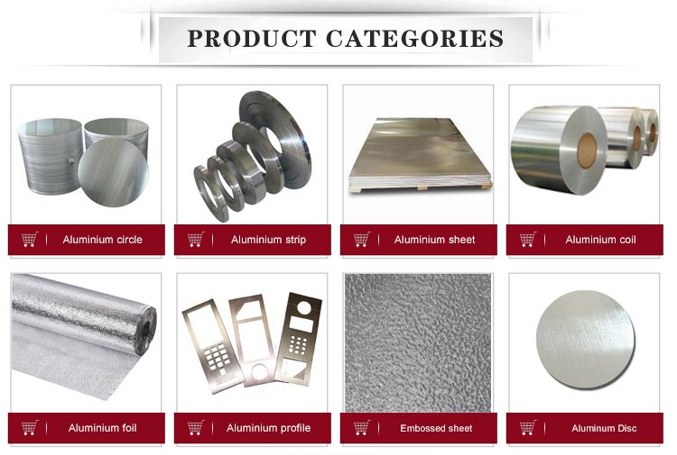 1050 1060 1100 3003 de metal círculo de alumínio para utensílios de cozinha