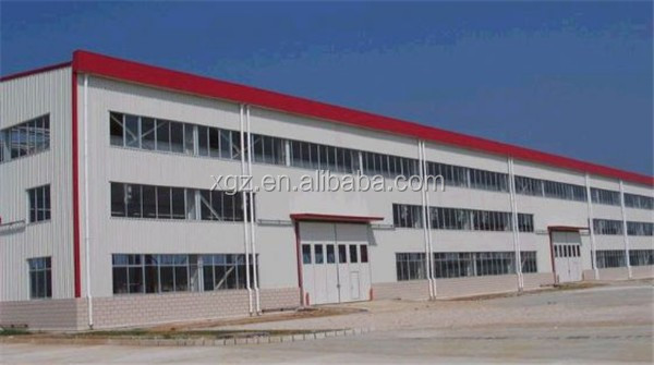 custom made pre engineered prefabricated steel structure building shop