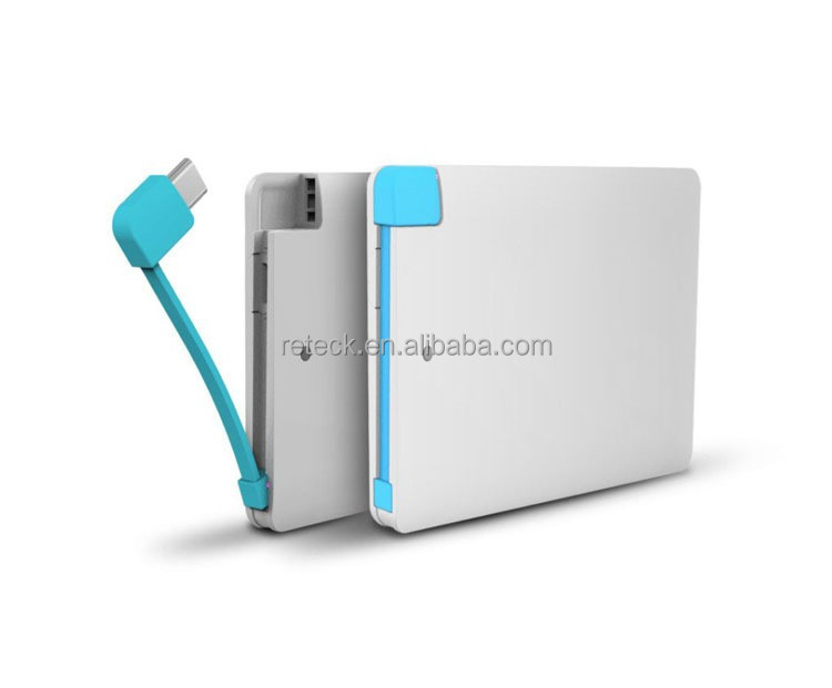 Factory wholesale Approved CE FCC 2500mah portable powerbank for All Device
