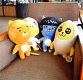 Cute 1pc 38cm South Korea kakao friends hold pillow doll RYAN doll gift card test fart