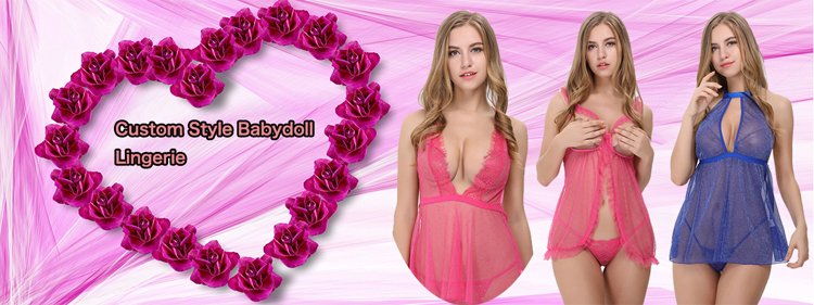 b8402bd418d Free Sample Custom Transparent 4 Color Sexy Babydoll Ftv Midnight Hot  Lingerie ...