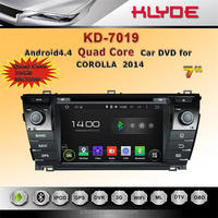 7 inch android car radio dvd player with gps navigation mirror link review camera for corolla2014