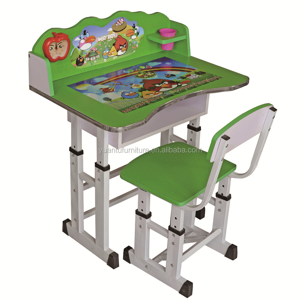 Ergonomic Adjustable Kids Study Table And Desk For