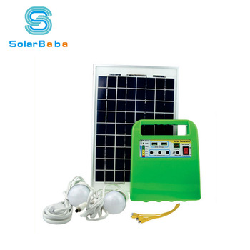 Portable Solar Home Lighting System 10w
