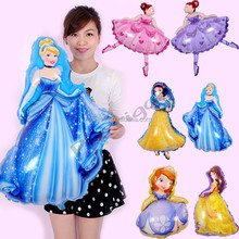 Princess Balloons Foil frozen balloon cartoon Character balloons for kids