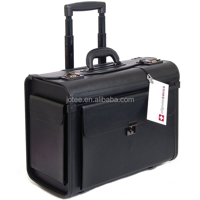 Laptop Briefcase on Wheels Attache Lawyers Case Legal Size