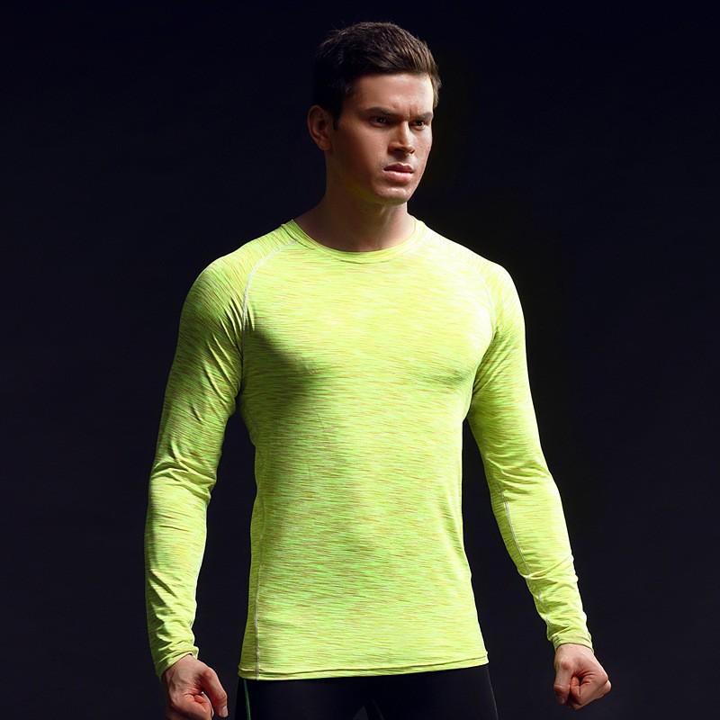 China Factory Men's Clothing Gym Sport Wear Tight Men's T Shirts Custom Men's T Shirts 7
