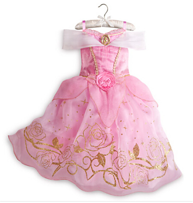 Cinderella Princess Character Dress Child 3t 4t 5 6 7: 2015 Cinderella Pink Princess Dresses For Child Bling