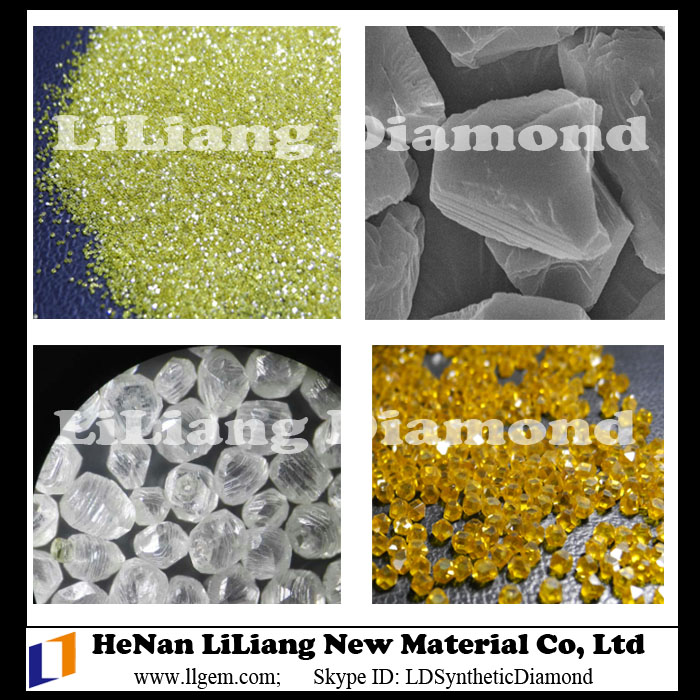 Jewel Quality White Diamond or Industrial Yellow Diamond of HPHT Diamonds for Sale