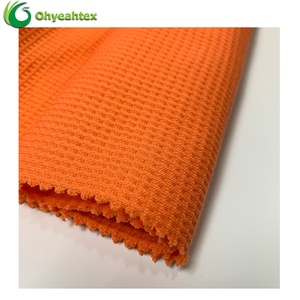 ECO-friendly Knitted 100% Cotton Waffle Fabric
