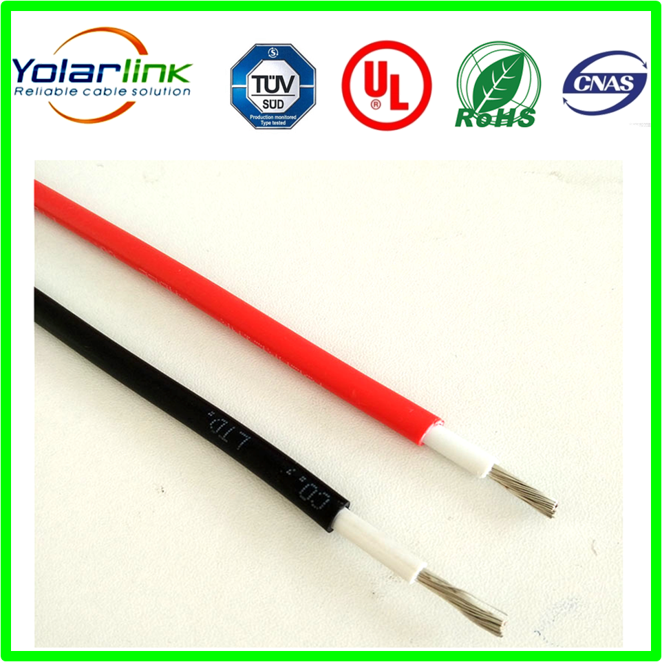 Low voltage Solar cable high temperature resistant pv cable