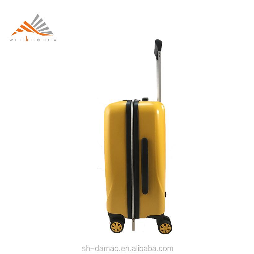 Prix raisonnable Polycarbonate Pilote Bagages Sac de Bagage De Chariot De PC
