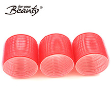 Plastic Self Holding Grip Magic Hair Cling Rollers Pro Salon Hairdressing