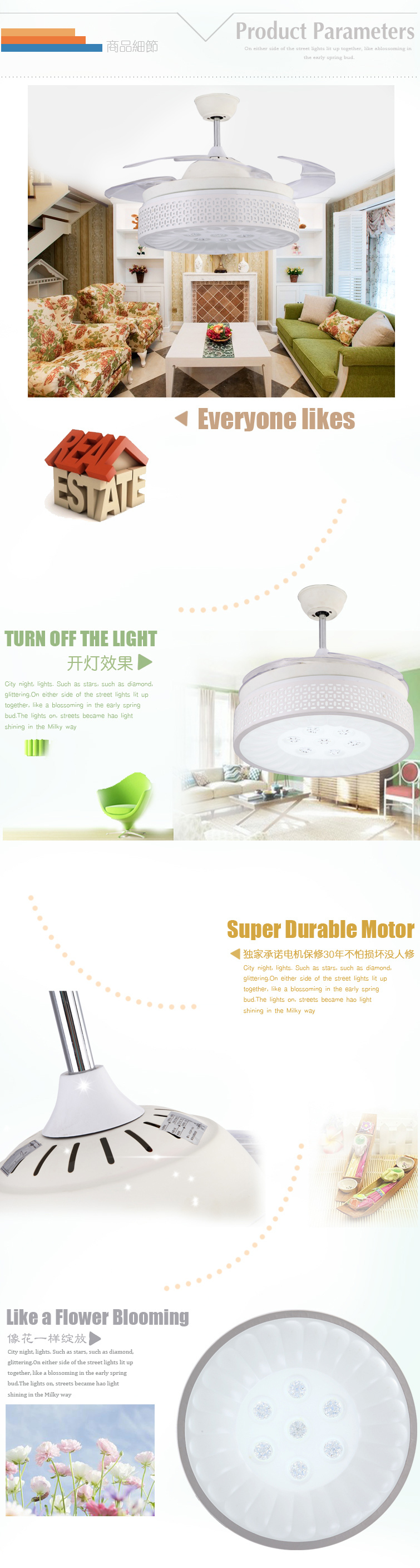 Blooming Flower Ceiling Fan Cheap Thousands Customers Consider