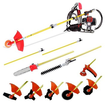 Zurück-pack Multi 10 IN 1 pinsel cutter, whipper snipper kettensäge, hedge trimmer, 52cc motor pruner