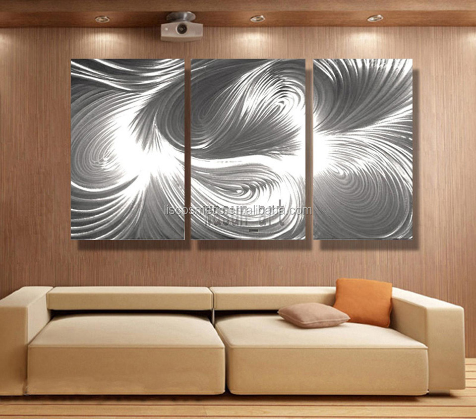 Wall art for home - Metal Painting Wall Sculpturemodern Abstract Wall Metal Wall Art Home Decoration
