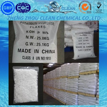 Gold Supplier Potassium Hydroxide Koh In China