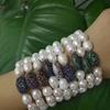 XY-CM1313 Handcraft Pearl Bracelet,High Quality Fresh Water Pearl Bracelet,fashion bracelet