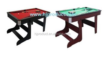 Retail Folding Leg Pool Table,small Size Billiard Table For Kids