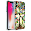 Guangzhou New trendy products Technology Custom printed Design Marble glass cell phone cover cases case for iPhone X